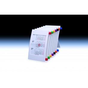 """Tischkalender """"Vision"""" für 2 Jahre 6-sprachig"""