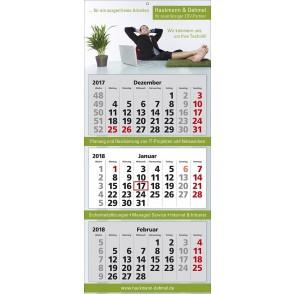 """Mehrblock-Wandkalender """"Classic 3"""""""