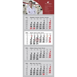 "Mehrblock-Wandkalender ""Clever 4"""