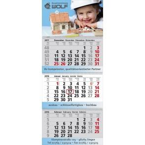 "Mehrblock-Wandkalender ""Exclusiv 3"""