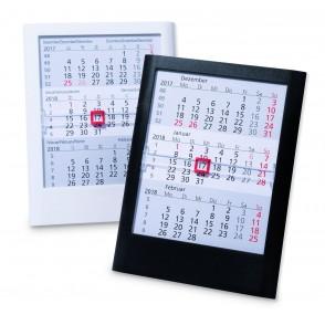 Kunststoff-Tischkalender Standard  '6-sprachig'