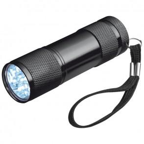 Taschenlampe mit 3 Batterien in einer Box