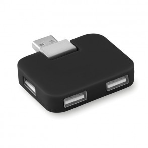 4 Port USB Hub SQUARE