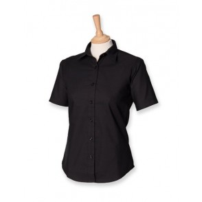 Ladies Classic Short Sleeved Oxford Shirt