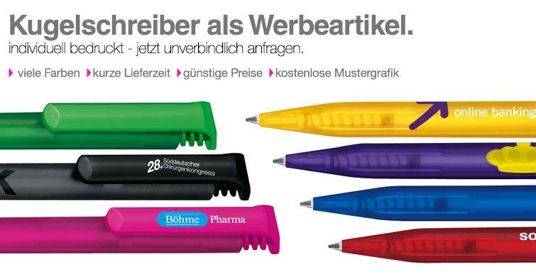 kugelschreiber als werbeartikel werbemittel mit logo bedrucken promostore