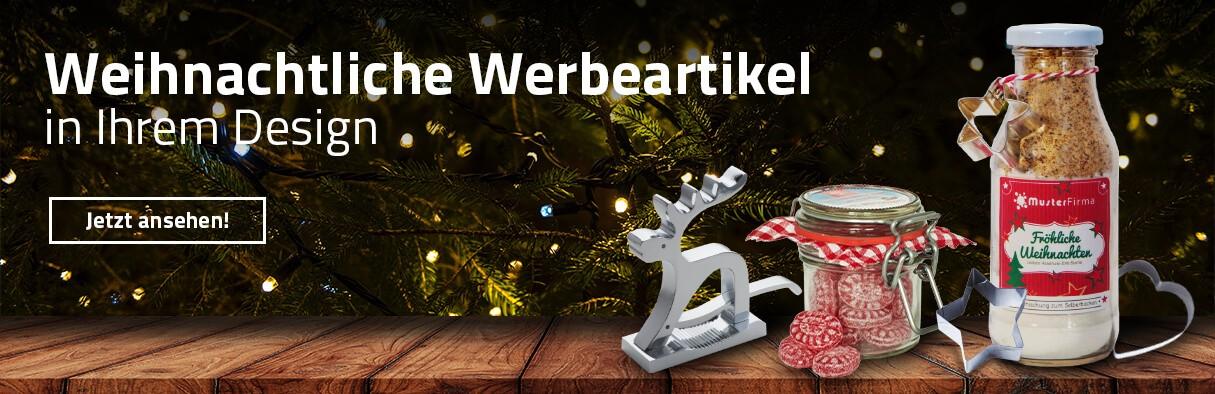 Weihnachtsartikel als Werbemittel