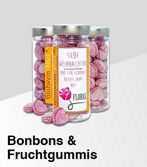 Bonbons und Fruchtgummis Werbemittel