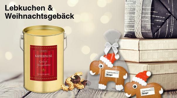 Lebkuchen und Weihnachtsgebäck Werbemittel
