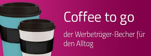 Coffee to go Becher bei Promostore