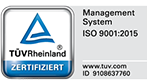 Promostore Zertifikat ISO 9001:2015