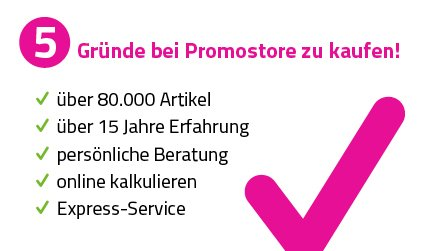 5 Gründe für einen Einkauf bei Promostore