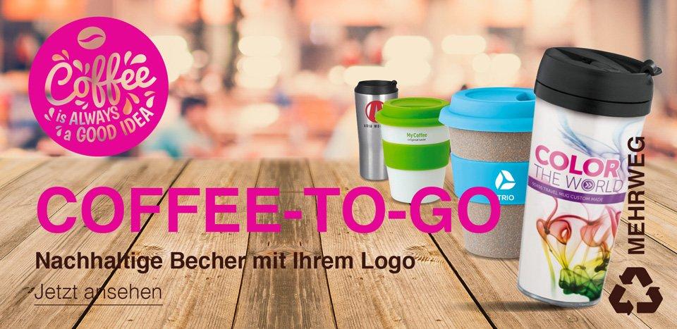 Coffee-To-Go Werbemittel