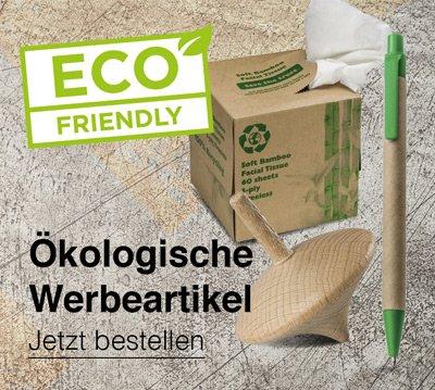 Ökologische Werbemittel