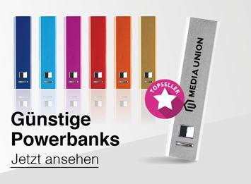 Sehr günstige Powerbanks