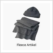 Fleece-Artikel als Werbekleidung bedrucken