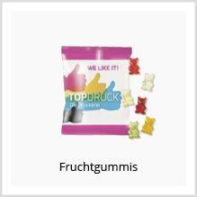 Fruchtgummis als Werbemittel