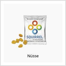 Nüsse als Werbeartikel