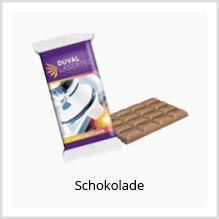 Schokolade als Werbemittel