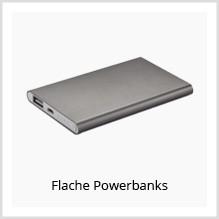 Flache Powerbanks als Werbeartikel