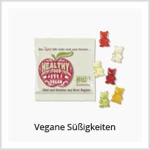 Vegane Süßigkeiten bedrucken